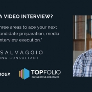 Paul Salvaggio discusses how to ace a video interview.